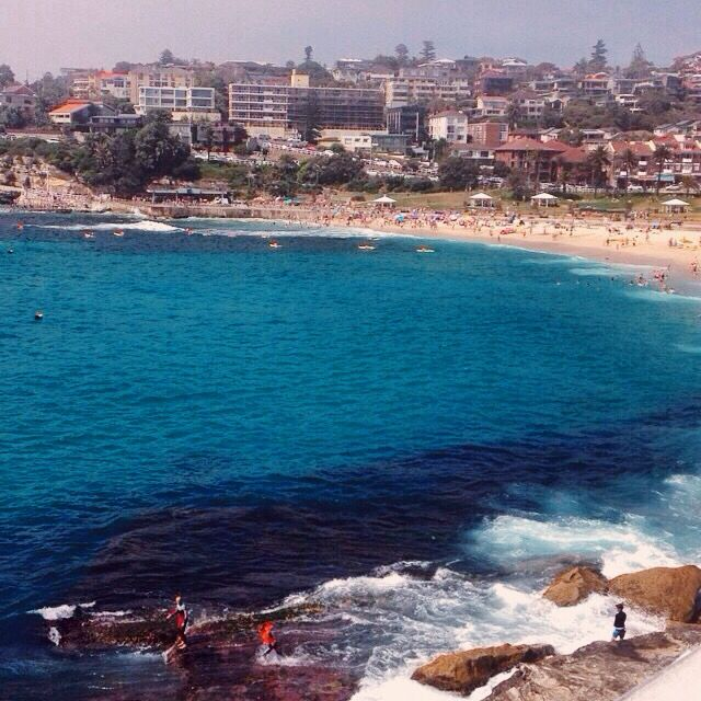 Bronte Beach. Bondi's younger brother
