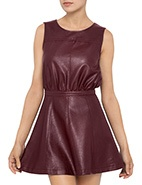 Camilla & Marc May Sleeveless Dress  #davidjones @camilla and marc #leather #dress #camillaandmarc #modern #edgy #fashion