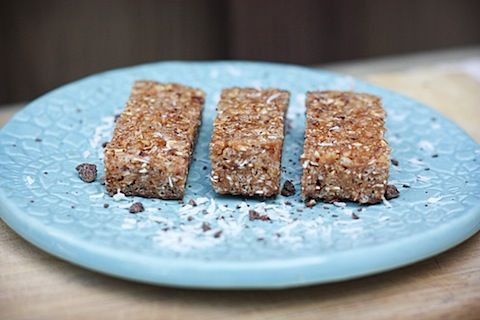 Coconut Dipped Chocolate Luna Bar.  My  favorite flavor! Can't wait to try this recipe