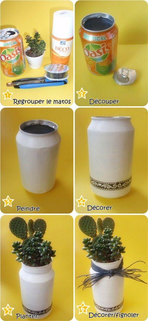Les p'tites créa' par Caro Dels - Blog créatif, DIY: DIY : La seconde vie d'une canette