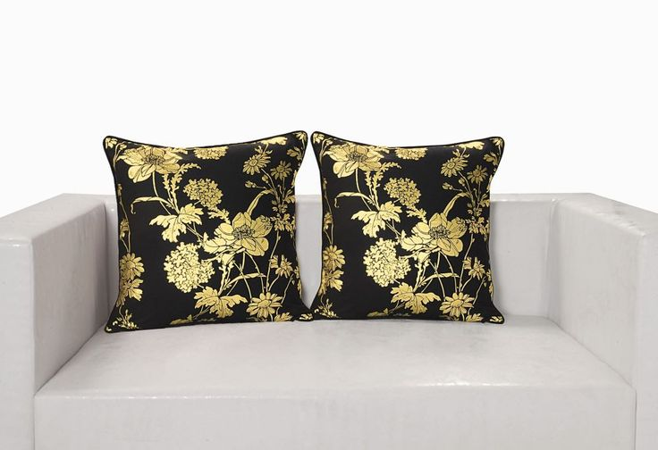 Gold foil cushion cover – FlickDeal