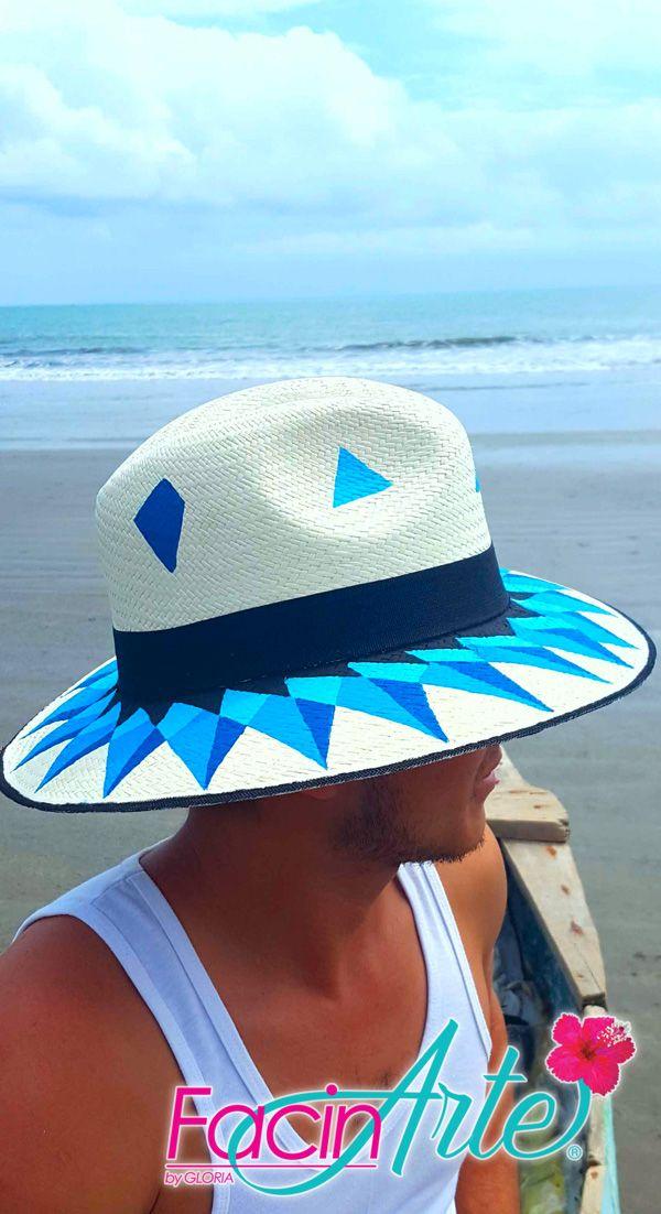 Los sombreros de Paja Toquilla son un patrimonio cultural de la humanidad.  FacinArte by Gloria 09f2af1bb943