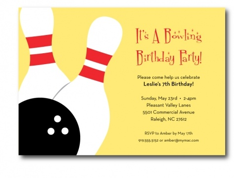 Best Bowling Party Images On   Birthdays Anniversary