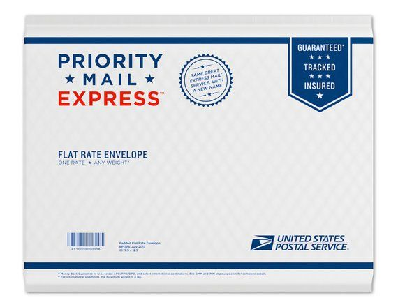 Priority Mail Express 1 To 2 Days Shipping Upgrade For Domestic