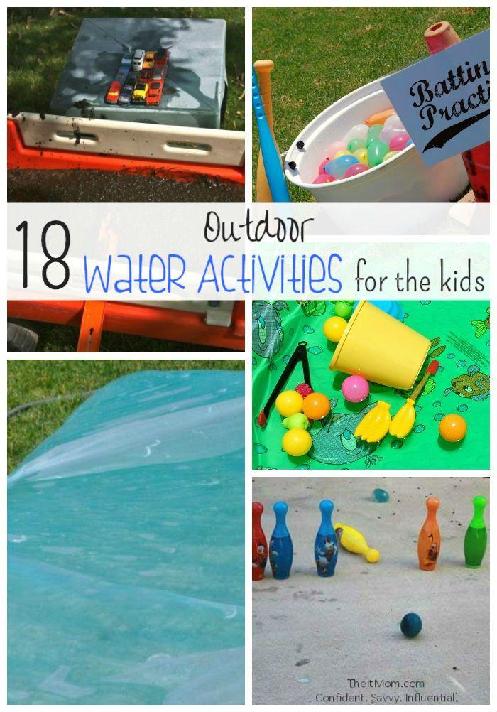18 Outdoor Water Activities For The Kids - TheItMom.com