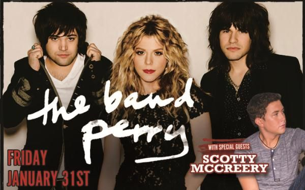 The Band Perry at the Cross Insurance Center Bangor Maine