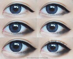 Anime eyes ♥️