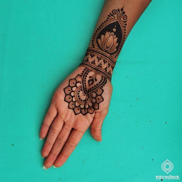 Best Mehndi Flower : Simple henna lotus flower imgkid the image kid