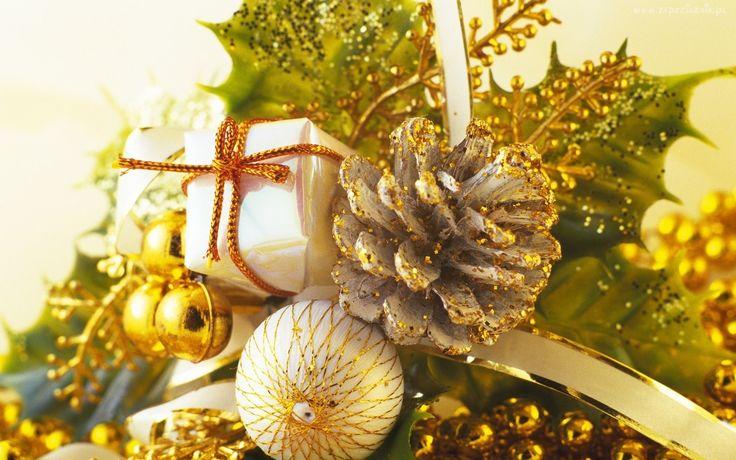 Stroik, Świąteczny, Szyszka