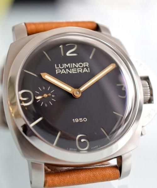 Panerai Luminor Marina Manual Wind Stainless Steel Mens Watch - Replica Homage Watches for Sale