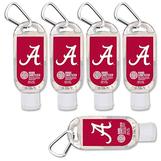 Amazon Com Ncaa Alabama Crimson Tide Hand Sanitizer With Clip 5