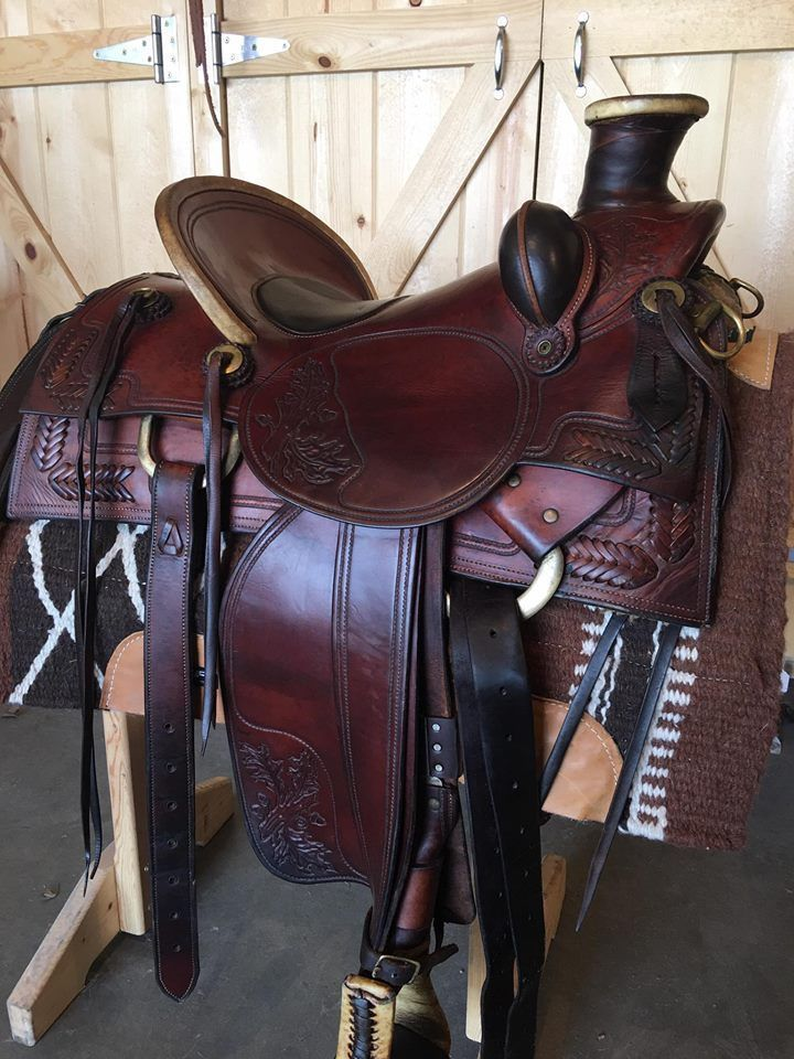 "15.5"" Langerud Custom Wade Roper ~~STUNNING SADDLE!~~ #LANGERUDCUSTOM horse saddles"