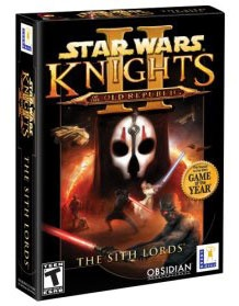 Knights of the Old Republic II - the KOTOR games are my all-time favorites!
