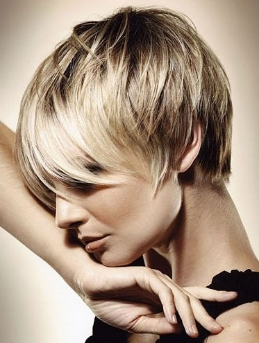 super short, with bangs short-short-hair... This may be the one!
