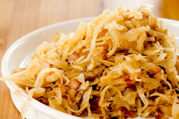 A golden brown, bacon spiked Sauerkraut Recipe that is ready in under 20 minutes. Pairs perfectly with sausage, pork chops or burgers. Paleo, Gluten Free.
