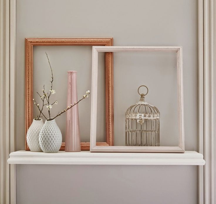 10x koper en pastel pink in huis