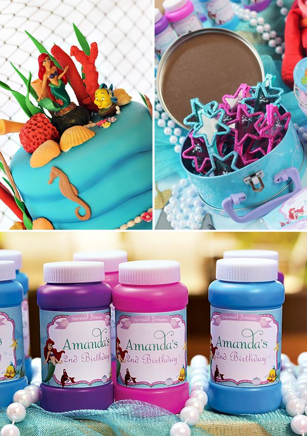 Little Mermaid Party: Under the Sea Adventure! // Hostess with the Mostess®
