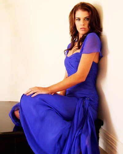 Floor length royal blue dress http://www.arcarocouture.com.au/