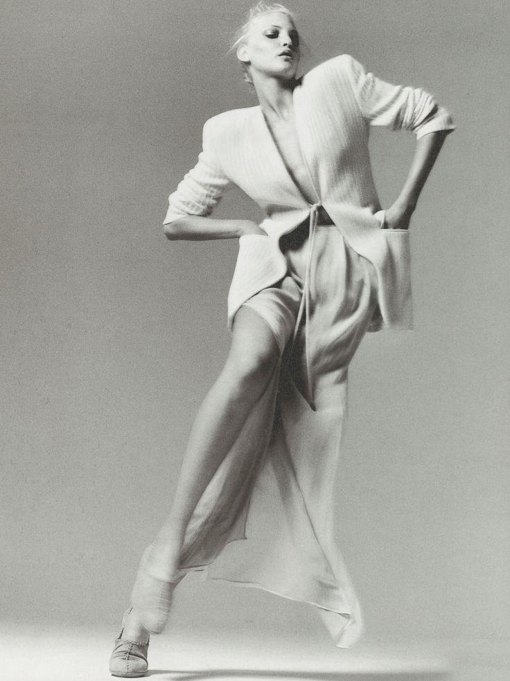 Nadja Auermann by Richard Avedon, 1994 Neiman Marcus Catalog
