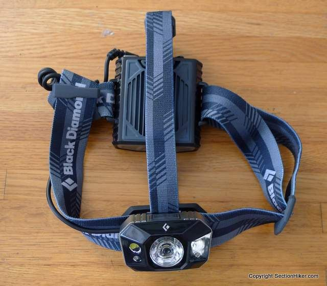 Black Diamond Icon Headlamp - http://sectionhiker.com/black-diamond-icon-headlamp-review/