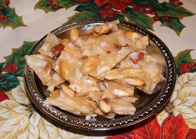 Mamma's Kitchen: Coconut Peanut brittle