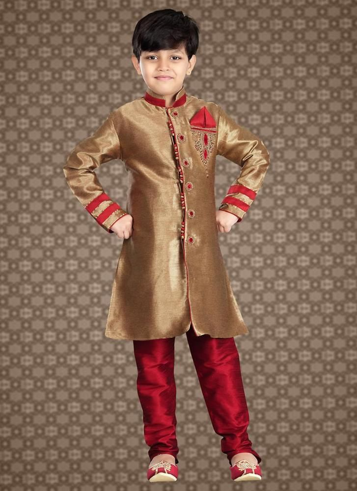 Readymade Wedding Indostyle Kids Bollywood Dress Sherwani Indian Ethnic Designer #KriyaCreation