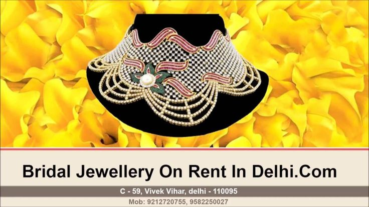 Bridal Jewellery On Rent | UseFull Information