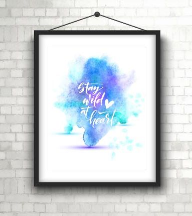 Free Printable: inspiring quote