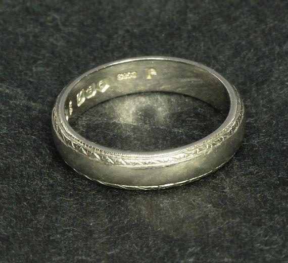 Platinum Aggie Ring