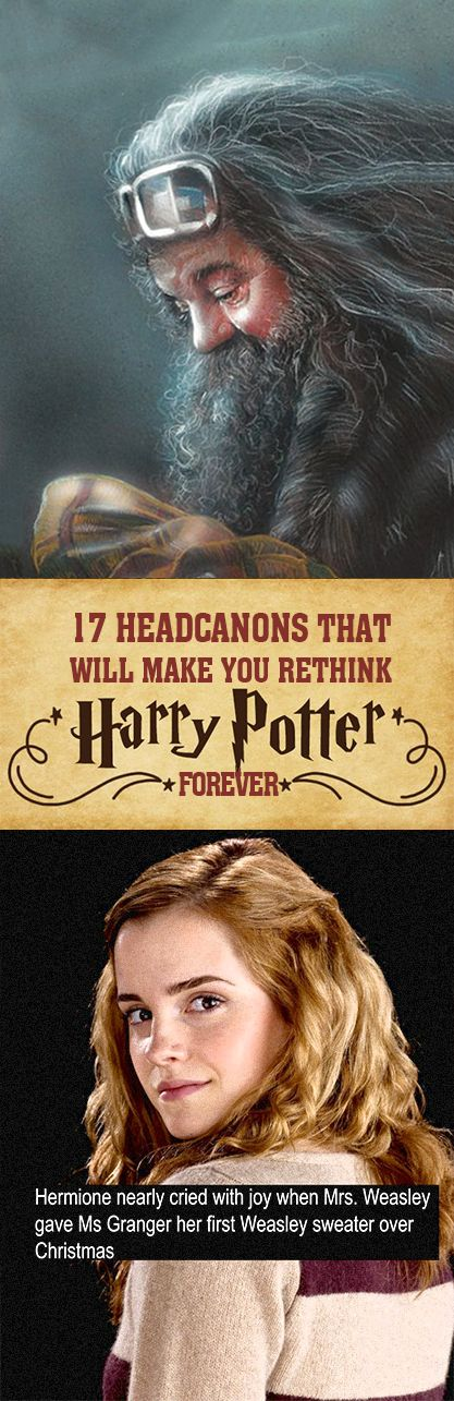 """17 """"Harry Potter"""" Headcanons That Will Change How You Read The Books"""