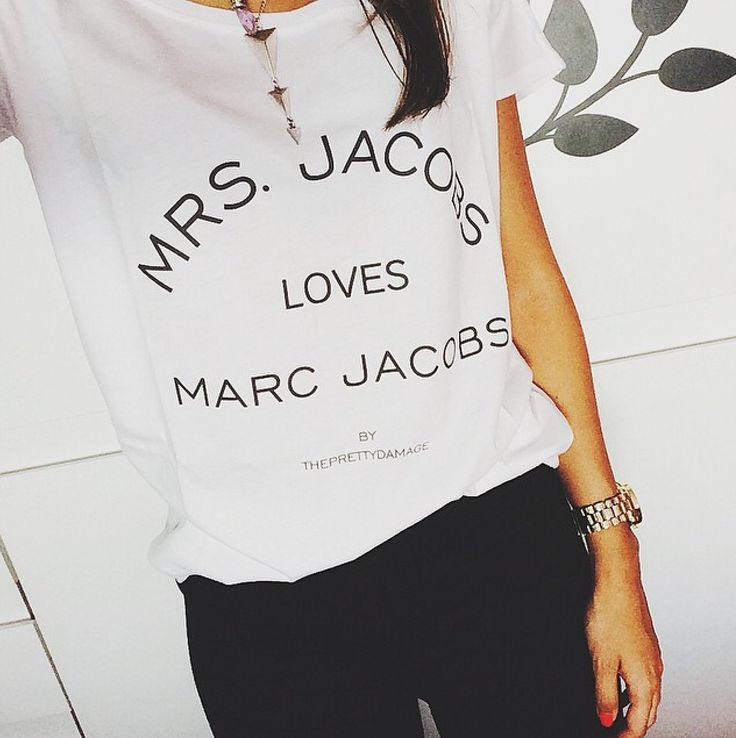 MRS JACOBS tee by www.facebook.com/ThePrettyDamage ✖️.