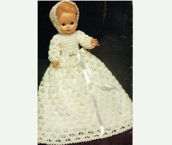 Baby Dress Crochet Pattern Victorian : 1000+ ideas about Crochet Christening Patterns on ...