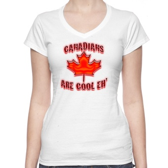 T-Shirts Canadians Are Cool Eh T-Shirt