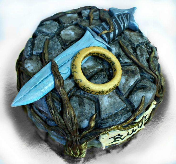 Lord of the ring cake | lord of the rings - by mdt @ CakesDecor.com - cake decorating website