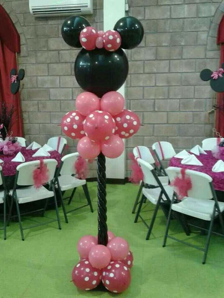 Minnie Mouse tower