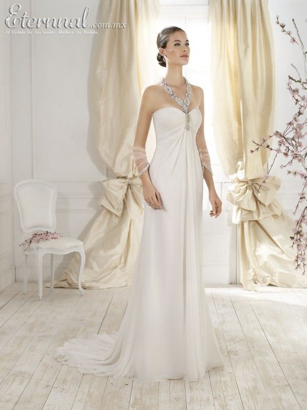 Vestido-de-Novia-LIA-corte-estilo-Imperio-y-escote-tipo-Corazon1