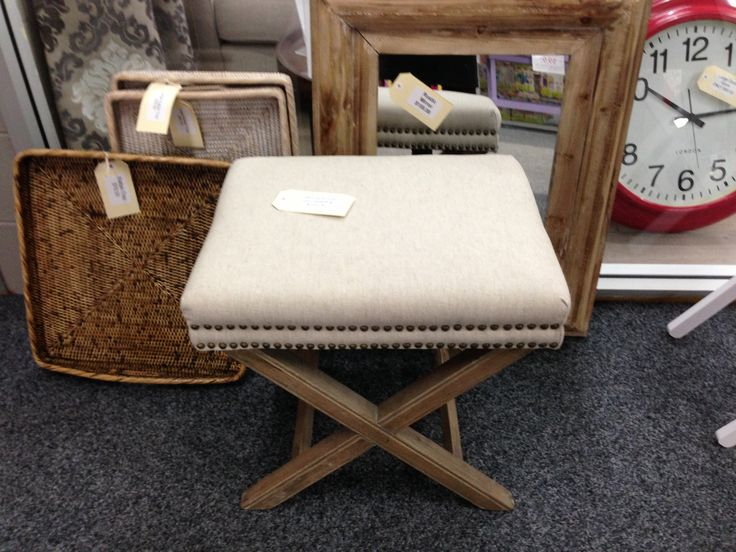 Ottomans are great for two at the end of a bed. available from Jemden Interiors