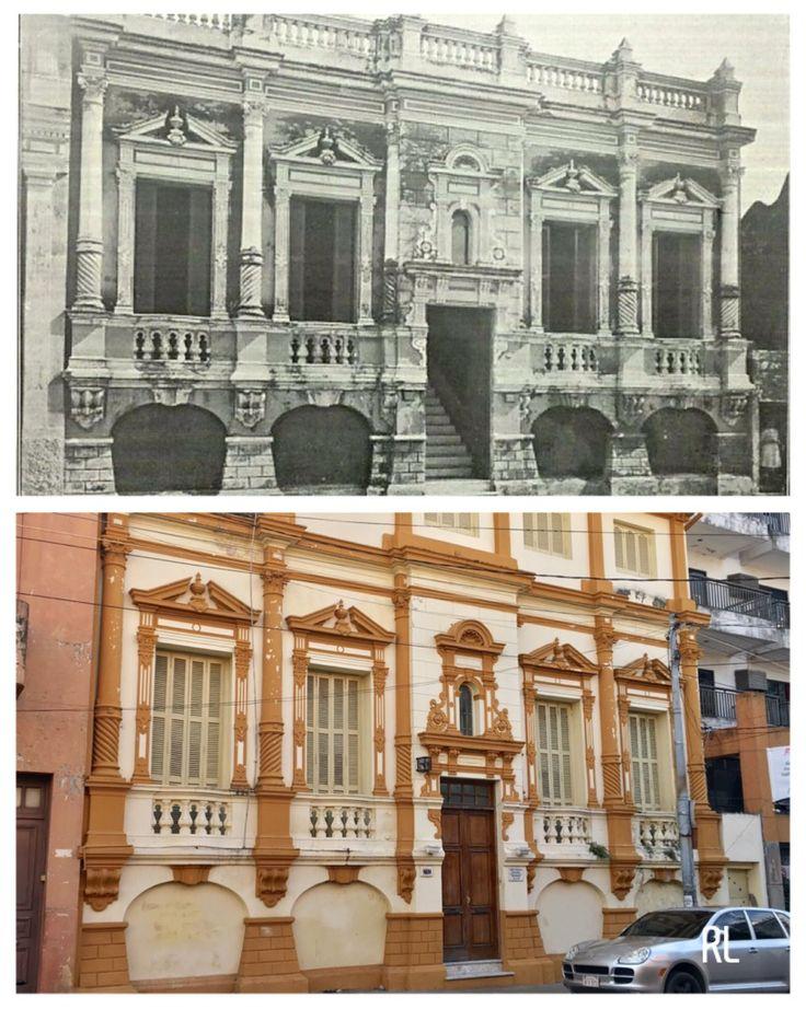Casona antigua de Asunción sobre Alberdi