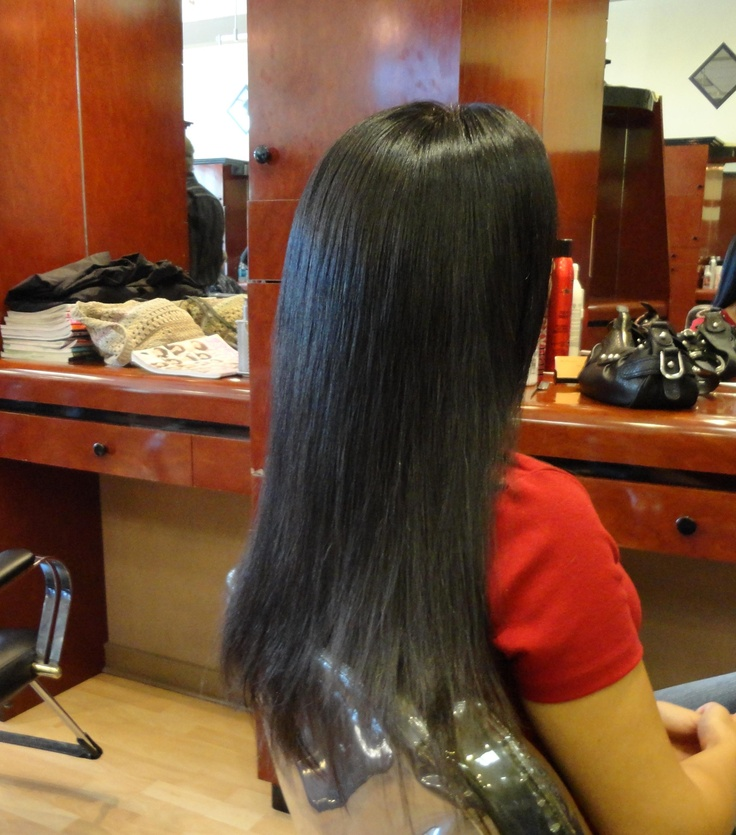 17 best images about top hair straightening systems orange county hair salon irvine on - Hair straightening salon treatments ...