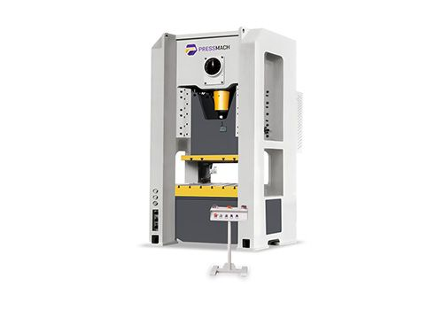 H-Frame Single Crank-Simgle Point Press Model: EPMH-80F  Source:http://www.pressmach.eu/en/product-details/1/5/Mechanical%20Presses/Single%20Crank/H-frame%20Single%20Crank%20-%20Single%20Point%20Press/fixed%20stroke/315 #pressmach #cnc #presses #press #steel #welded #structure #frame #design #prevent #deformation #quality #accuracy #die #durability #precise #electronics #communications #computer #household #appliances #automobiles #accessories #motorrotors #accurate #singlepointpress