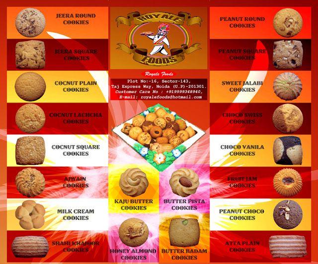 desain Katalog produk makanan dan kue
