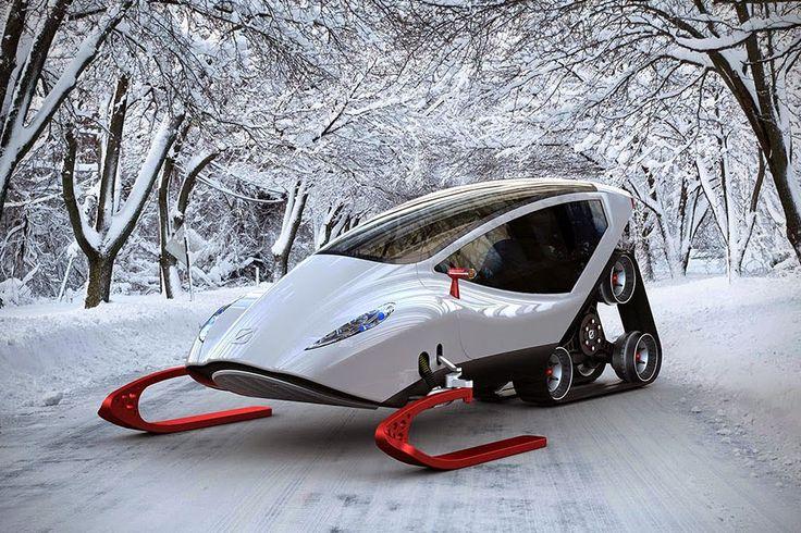 Snowmobile konsept | SNOWCRAWLER | TeknOlsun