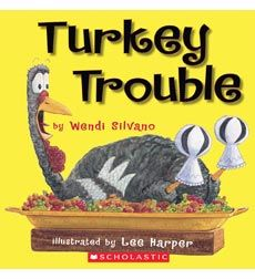 Turkey Trouble - best Thanksgiving book EVER