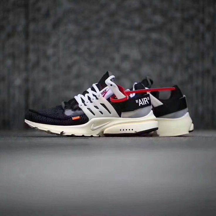 Nike Off Best Quality White Top Air Presto Virgil Abloh UK The Ten Black AA3830-001