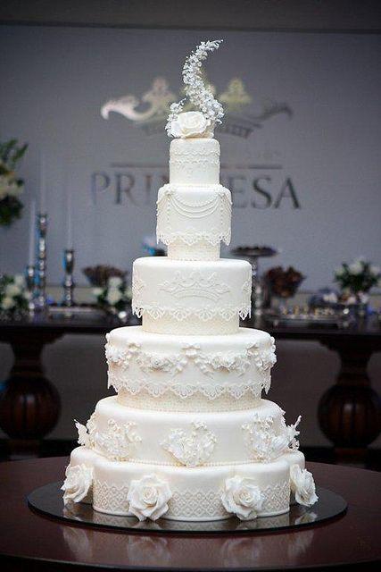 Indian Weddings Inspirations. White Wedding Cake. Repinned by #indianweddingsmag indianweddingsmag.com #weddingcake