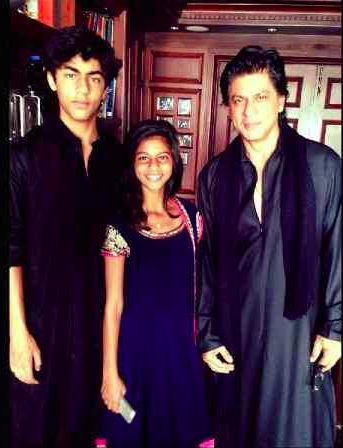 'Chennai Express' Actor, Shahrukh Khan to Do New Film With Son Aryan in The Future?
