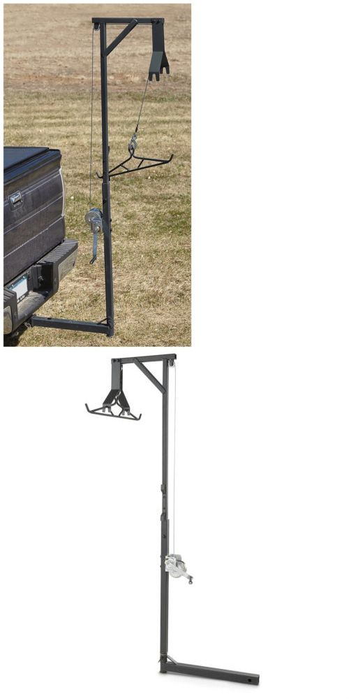 Game Carts Gambrels and Hoists 177888: 360° Big Game Hunter Buck Deer Hoist Gambrel Truck Hitch Lift System Steel -> BUY IT NOW ONLY: $150.88 on eBay!