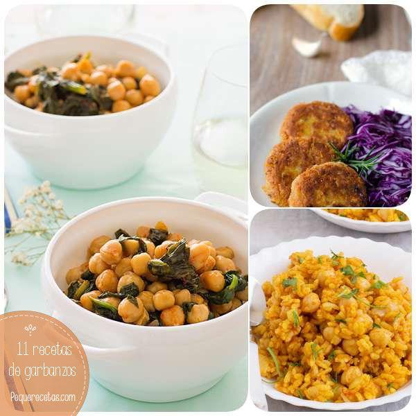 Los garbanzos aportan minerales, vitaminas y fibra a la dieta. Elegimos 11 recetas de garbanzos para que cocines garbanzos en casa y ¡todos los disfruten!