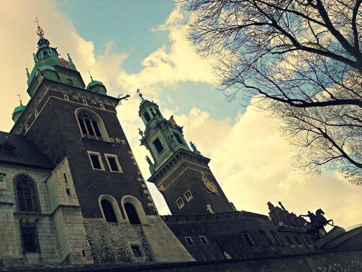 Verso la Cattedrale del Wawel.