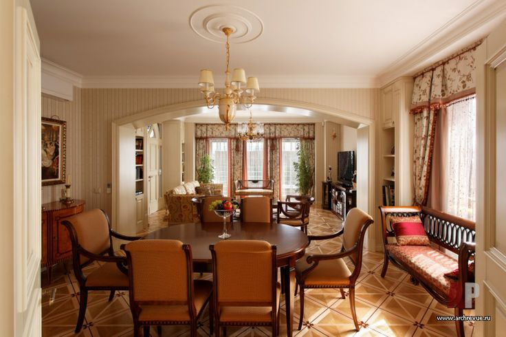 Дизайн интерьера светлой квартиры в классике